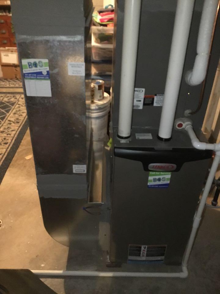 Lennox furnace maintenance no repair