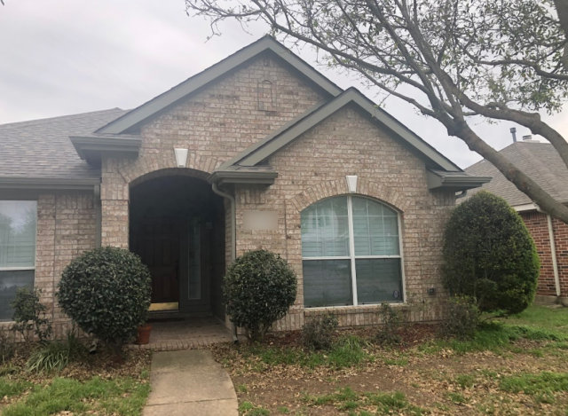 Lucas, TX - Painting this lovely home in Allen was a breeze! Applying a Sherwin-Williams Resilience custom color to this residence rejuvenates the exterior while adding a hint of elegance, making it a beauty for years to come.