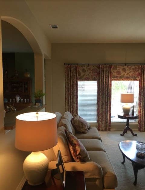 Lucas, TX - You won't believe how much this room has changed by adding a fresh new coat of Sherwin Williams' White Duck (SW 7010) in a Low Lustre finish. Their Cashmere Interior Acrylic Latex products truly guarantee an ultra-smooth, silky result...fabulous!! 🏠🥰