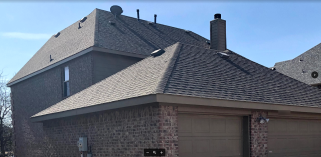 Lucas, TX - This steep roof is no challenge for Phillips Home Improvements! Our team of experts are safely and quickly installing Owens Corning Supreme three-tab shingles on this outstanding home in Allen 🏠
