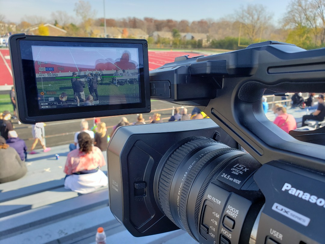 Riverview, MI - Filming football championships all day!