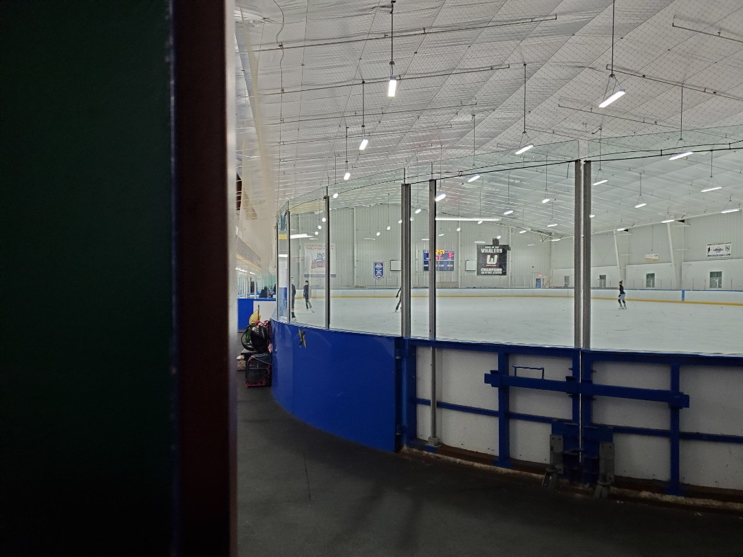 Cromwell, CT - Running a streaming test here at Champions Skating Center for Memory to Video Productions