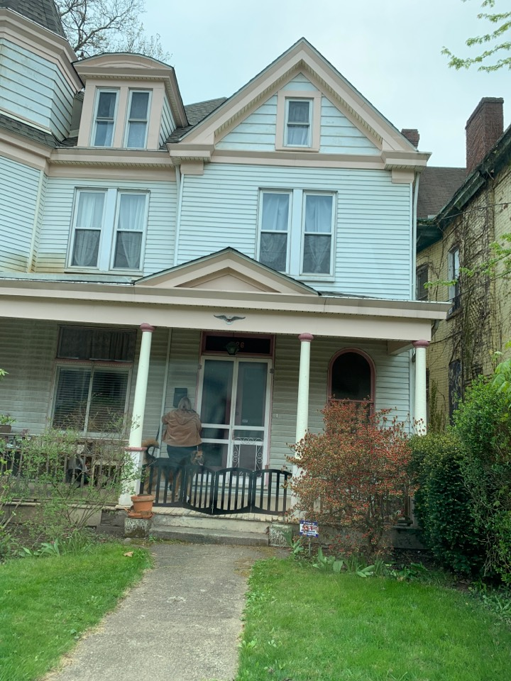 Pittsburgh, PA - Estimate to repair box gutters with silicone rubber roof system, 50-year warranty.