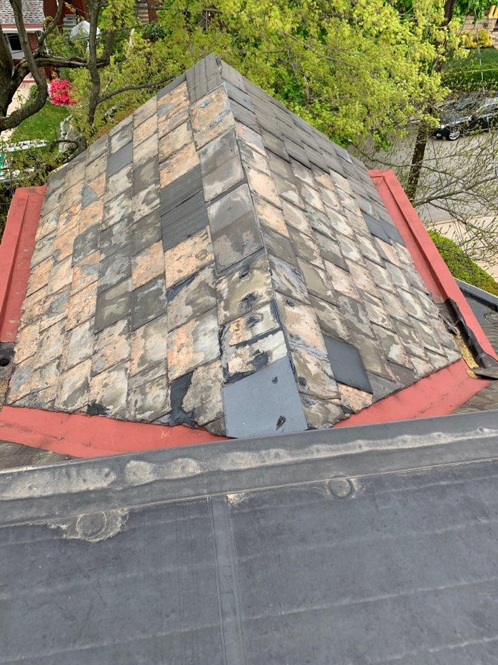 Pittsburgh, PA - Slate repair