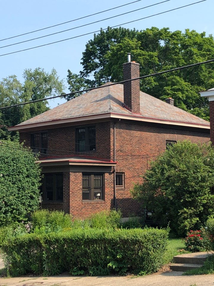Pittsburgh, PA - Homeowner is interested in replacing their 100 year old slate roof