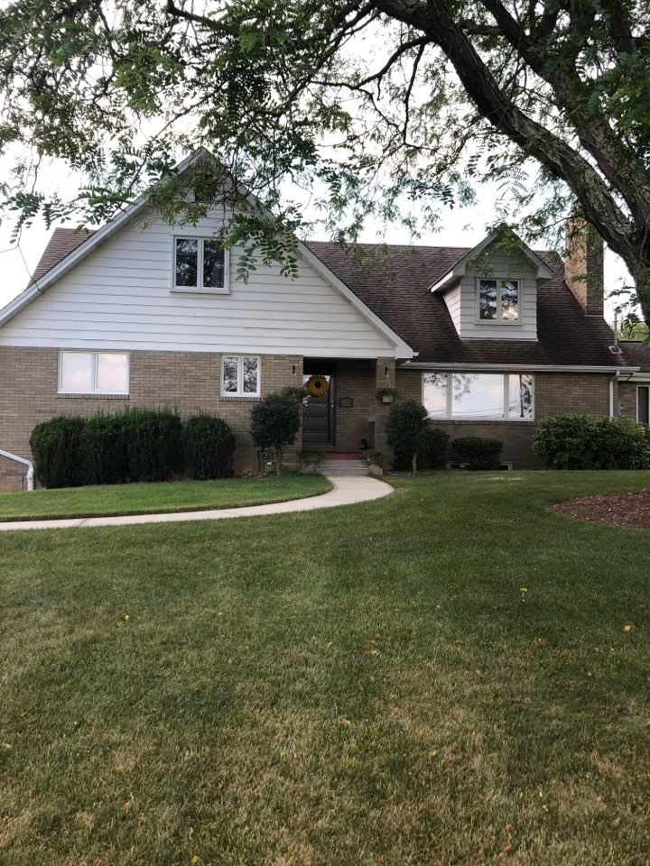 Pittsburgh, PA - This homeowner is interested in a new roof, new gutters, and new soffit and facia