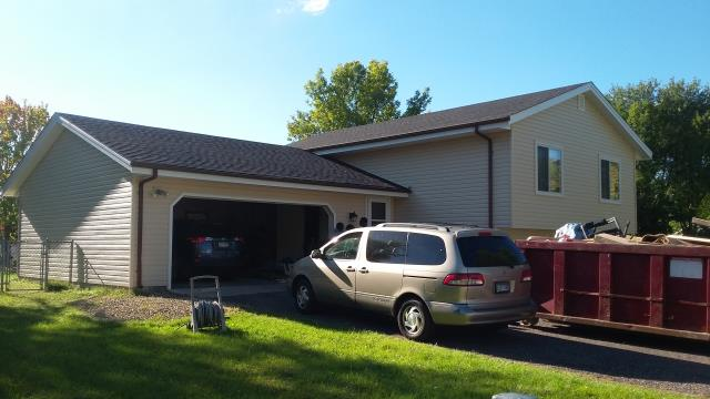 An other roofing job successfully done by Prime Home Construction.