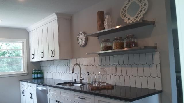 New kitchen remodel just completed for a single family residence.