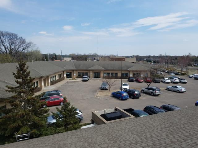 Coon Rapids, MN - working on a roofing estimate for a commercial property for one of our current customers.