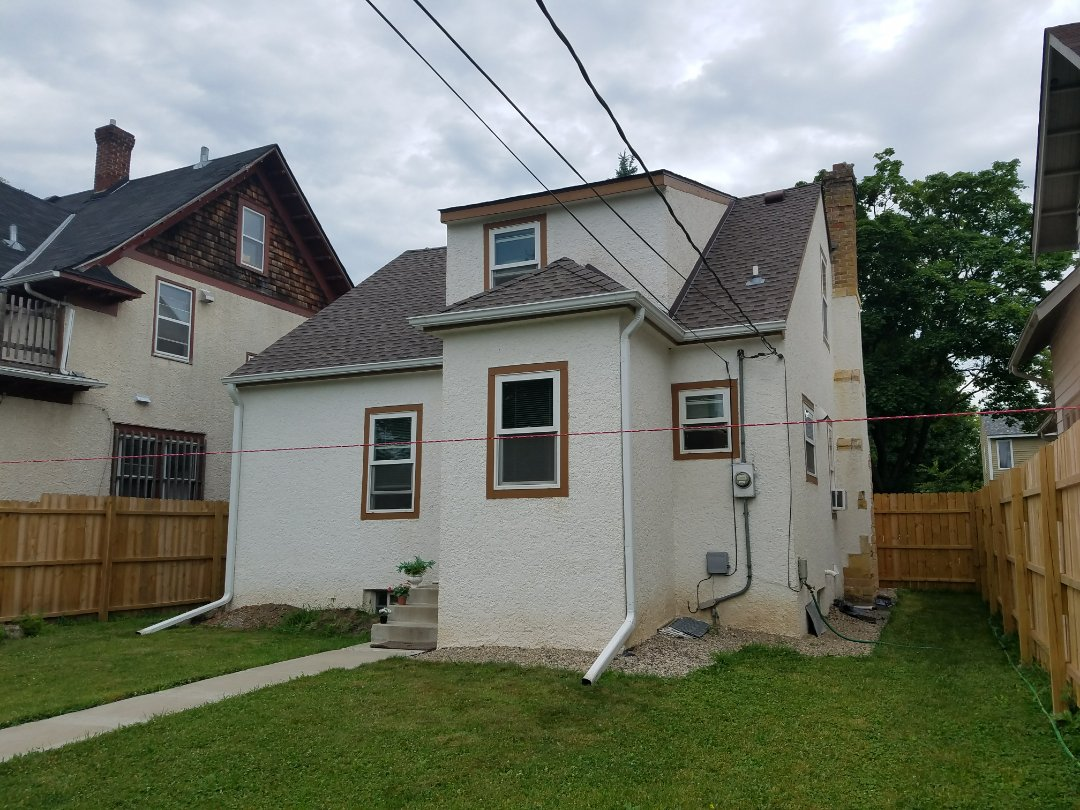 doing an estimate for a home owner that woukd like to do an addition on the back of his house to expand kitchen. We will have a new kitchen flooring, new kitchen cabinets, and new plumbing lines. pn exterior side, we will have a flat roof.