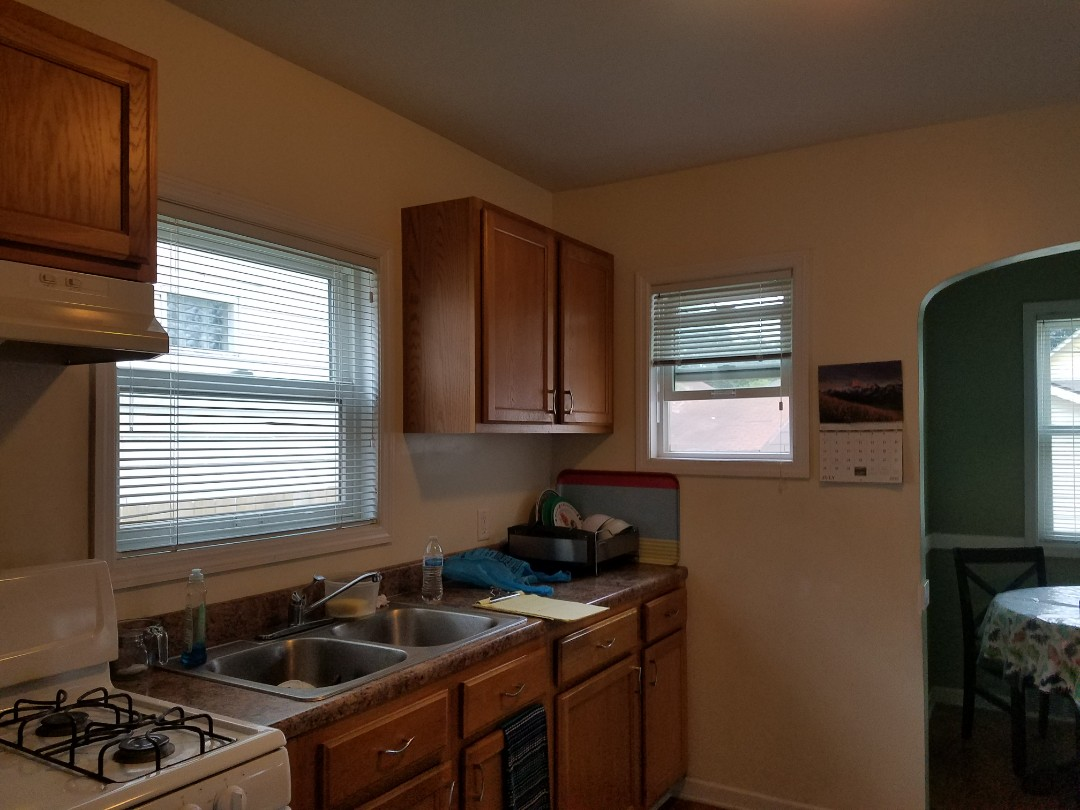 Doing Bathroom and kitchen remodel estimate for one of our many real estate investor.