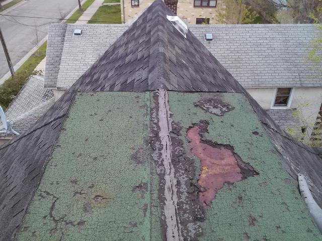 Repairing A Steep Roof