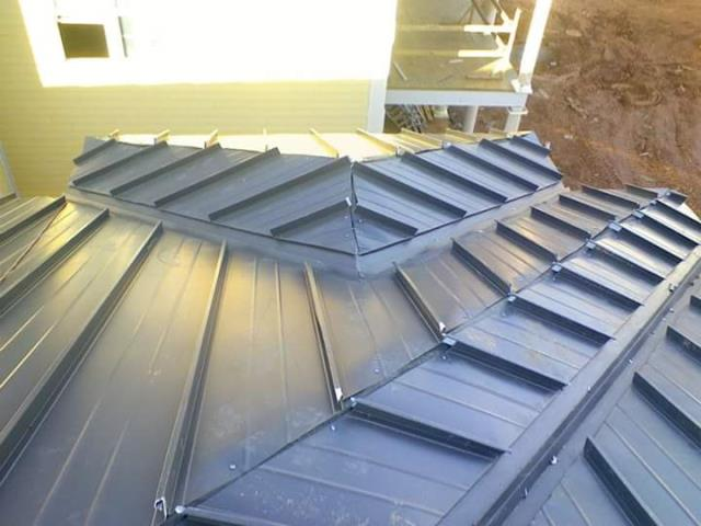 Metal reroof done by Prime home construction