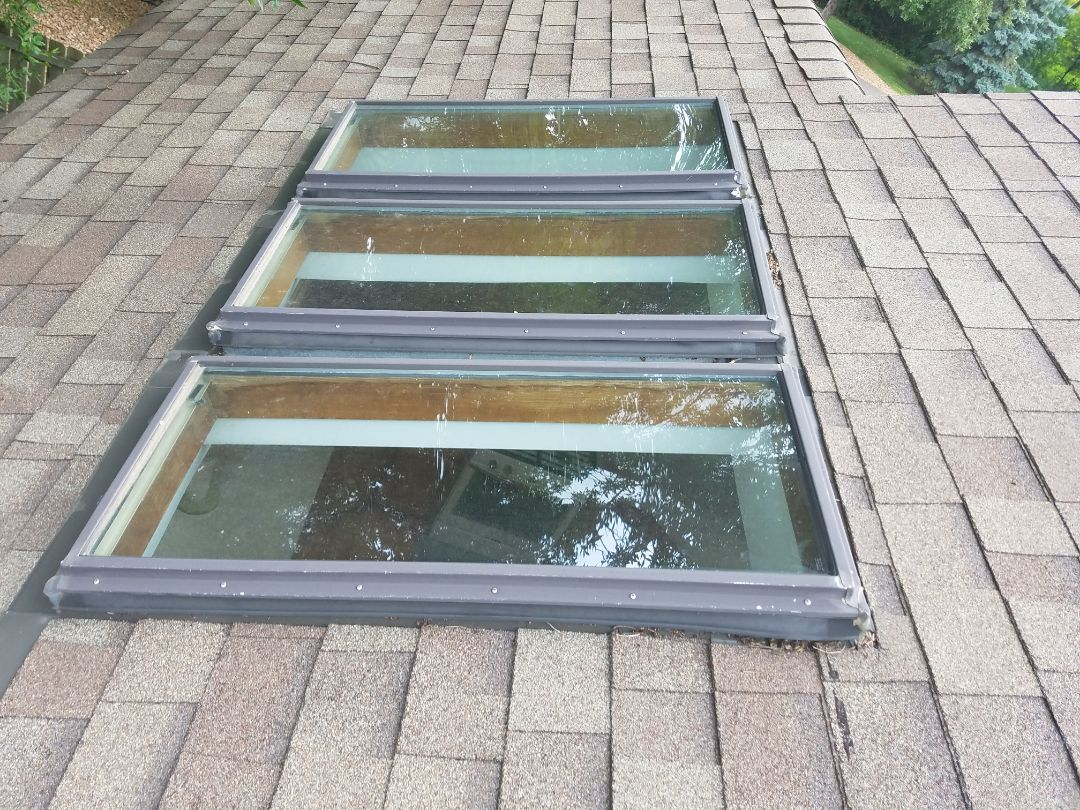Velux fixed skylight contractor in shoreview, Mn.