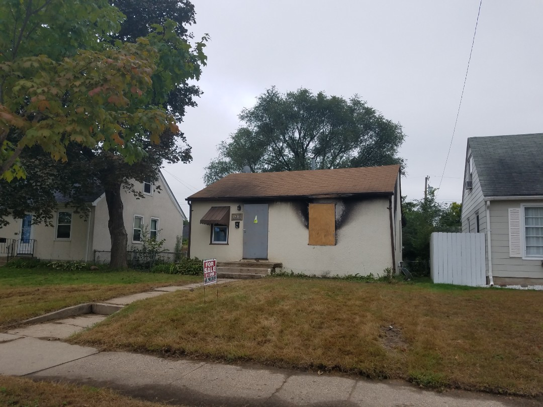 Minneapolis, MN - doing a fire restoration remodel. complete, kitchen, bathroom, roofing, siding, windows and all mechanical work.