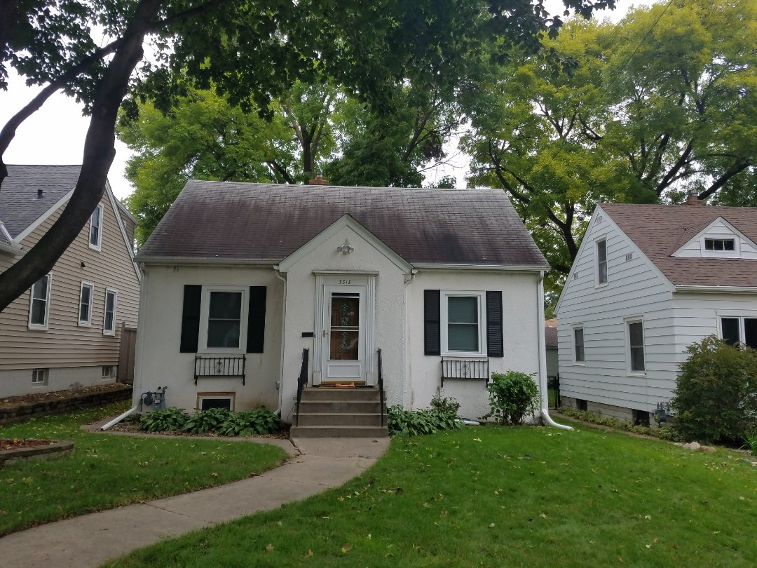 Minneapolis, MN - Doing hail storm inspection. roofing, siding, gutters and window storm damage