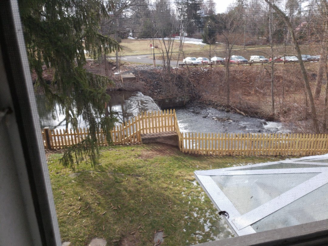 Vernon, CT - New fence installed