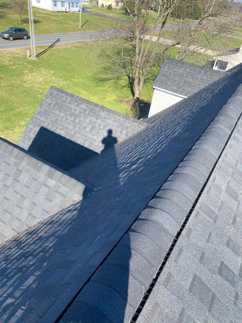Laurel, DE - Heres a New GAF Timberline HDZ Roof Installation in Laurel!