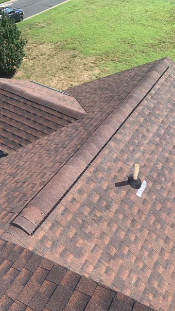 Rehoboth Beach, DE - Here is another GAF HDZ Timberline Shingle Roof! This customer got his entire roof replaced for the cost of his insurance deductible! Cant beat that!