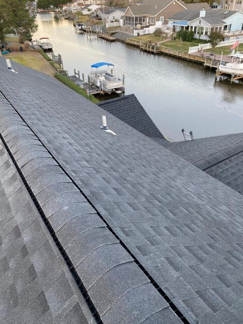 Selbyville, DE - Here is Another GAF Timberline HDZ Charcoal Shingle in Selbyville DE!