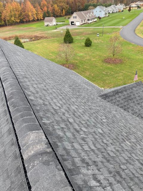 Seaford, DE - Here is an installation of a GAF Timberline HDZ Shingle Roof in Seaford DE!