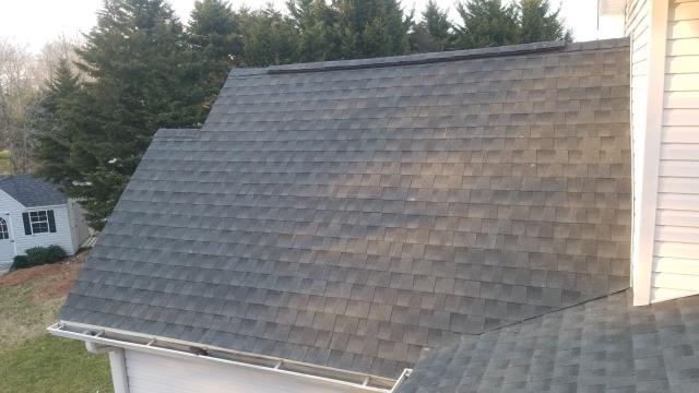 Selbyville, DE - Check out this new residential GAF roof replacement in Selbyville, DE. Our team helped this roof get approved for a full replacement through insurance!