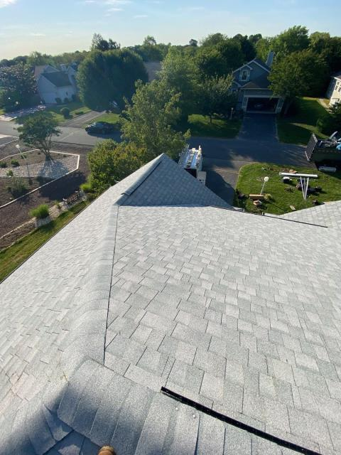 Bethany Beach, DE - Brand new CertainTeed Landmark shingle roof installation. We helped the Homeowner get approved for financing for this roofing project.