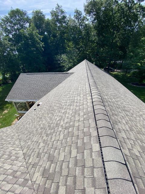 Lewes, DE - Today we completed this beautiful  shingle roof. We helped get this roof fully approved for a replacement by insurance!