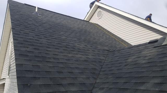 Camden Wyoming, DE - Brand new GAF Timberline HDZ roof replacement. This roof was over 20 years old and needed to be replaced. We gave him a free estimate and was able to help him out.