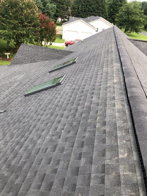Milton, DE - Installed new GAF Timberline HDZ Shingle roof. Insurance claim fully approved