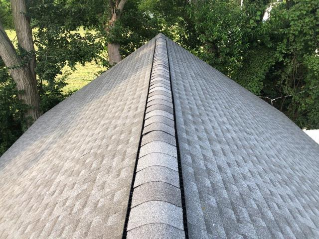 Milford, DE - Newly Installed GAF Timberline HDZ Shingle Roof. The customer chose the low monthly payment options.