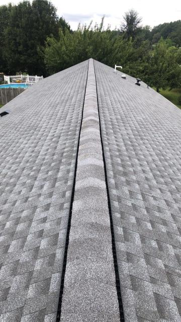 Harrington, DE - Beautiful new GAF Timberline HDZ roof in Pewter Gray! This roof was approved for a full replacement under home owners insurance!