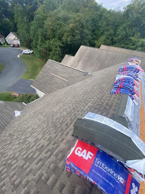 Ocean Pines, MD - Installing a new lifetime roof.  we are the preferred roofers in your area.