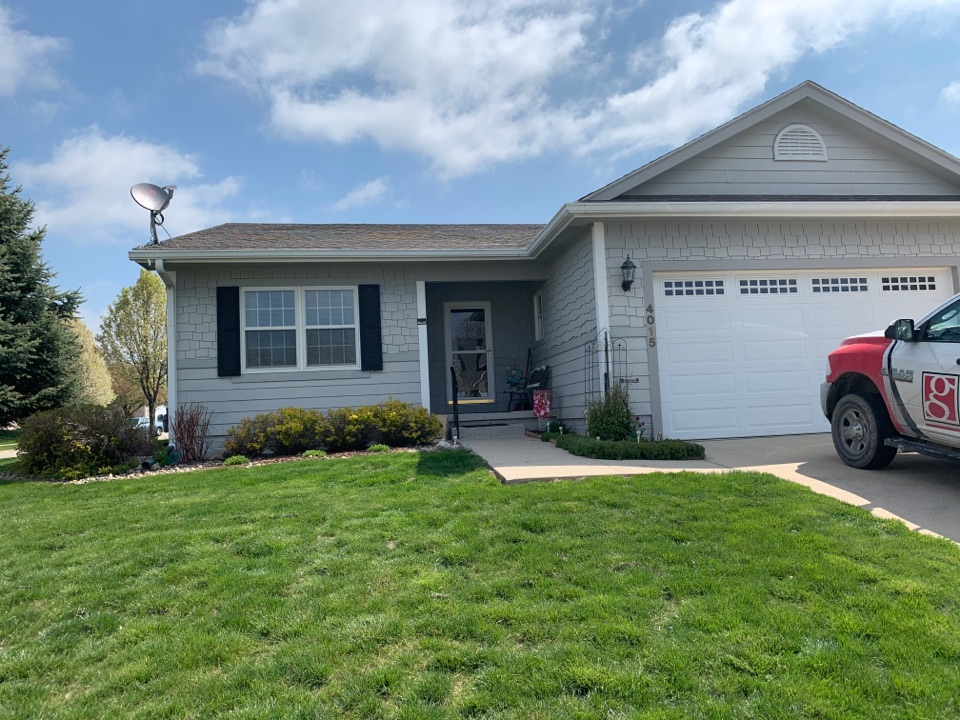 Urbandale, IA - Wind damage roof repairs in Urbandale, Iowa! Free roof estimates and free roof inspections! We work with all insurance!