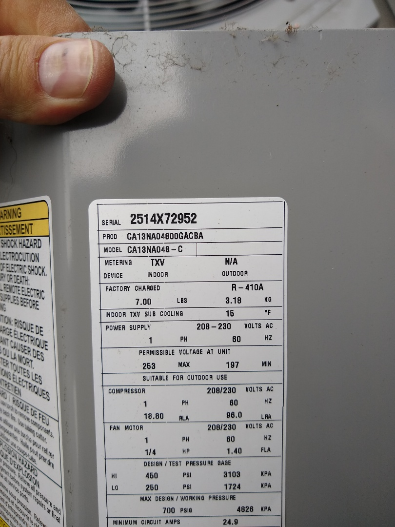 Fort Wayne, IN - Replaced bad capacitor in carrier air conditioner