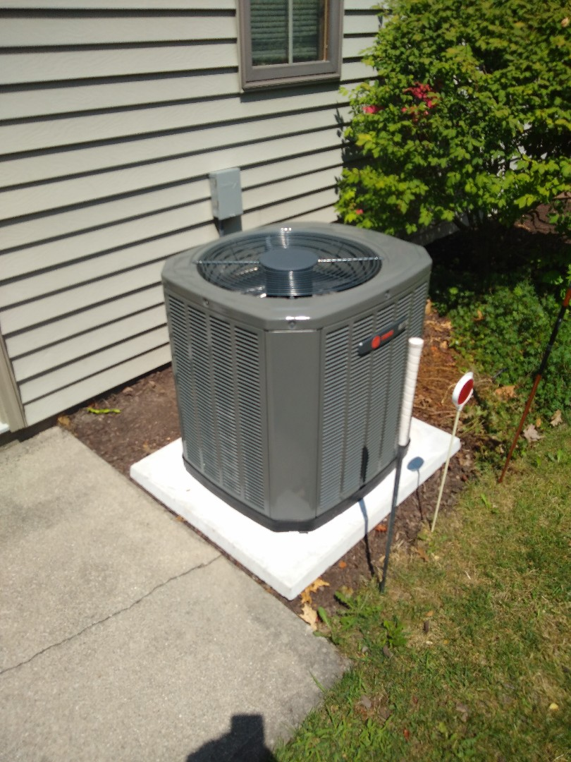 Fort Wayne, IN - New trane a/c install
