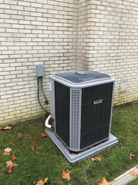 Centerville, OH - During a tune up on a Tempstar air conditioner, I inspected the blower wheel, duct system and return air filter. I tested all pressures, temperatures and wiring. System is cooling and operating within manufacturers specifications at this time.