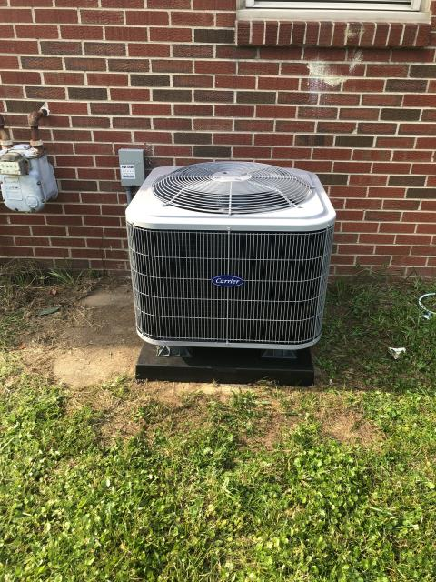 Dayton, OH - I arrived on site to perform a tune up on a Carrier air conditioner and Lennox furnace. During the tune up I saw that the furnace filter was worn and recommended that it needed to be replaced. All other components were up to standard and both units were running at full functionality upon departure.