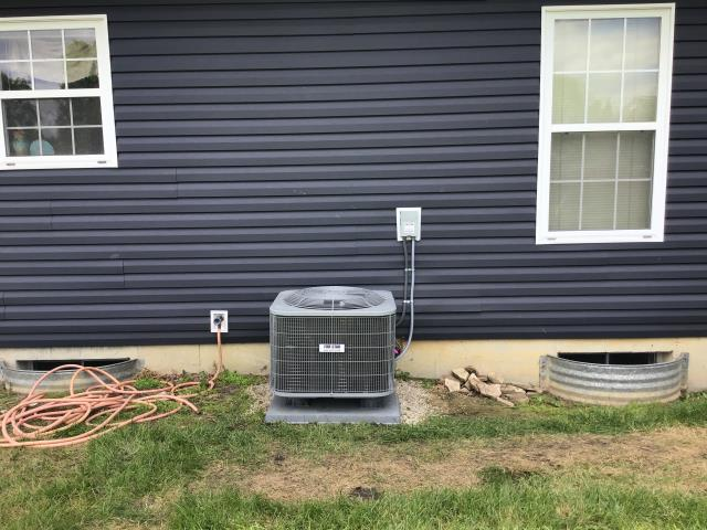 Huber Heights, OH - I arrived on site to perform a tune up on a 13 SEER 3 Ton Air Conditioner and a Bryant furnace. During the tune up I saw that the furnace filter was worn and needed replaced. I recommended this to the customer. All other parts were functioning normally and both units were running at full functionality upon departure.