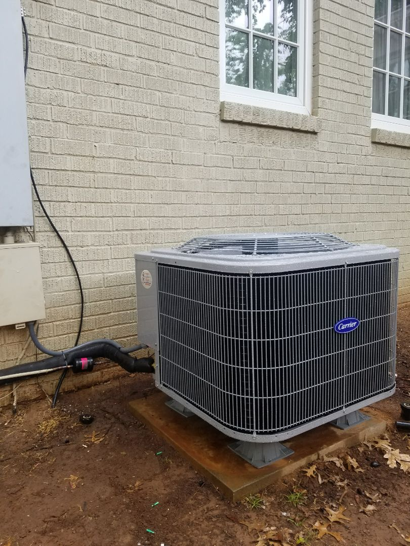 Nichols Hills, OK - Installing 3 ton Air Conditioner and furnace with filter base  Nichols Hills, Ok