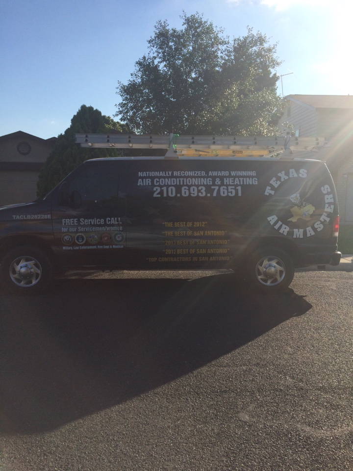 Converse, TX - Air conditioner repair, performed and ac service on a Trane air conditioning unit.