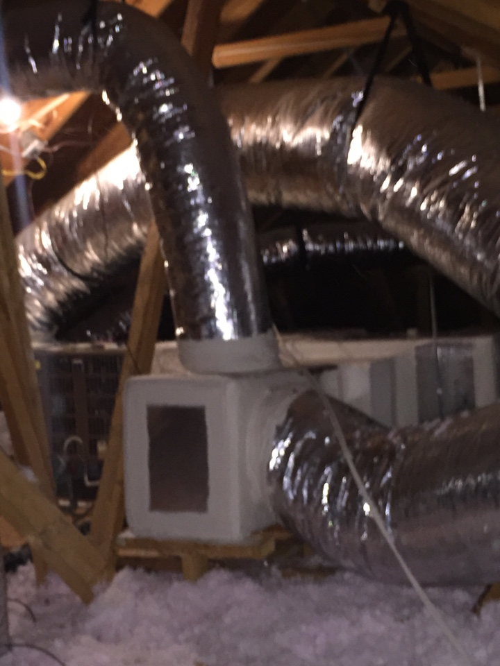 San Antonio, TX - Ac maintenance- whole house duct seal and new Lennox Gas system