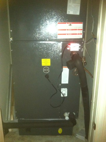 Cibolo, TX - Air conditioning repair/install of a 2stage unit w/ uv light.