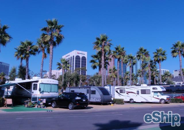 RV Transport in Long Beach, California