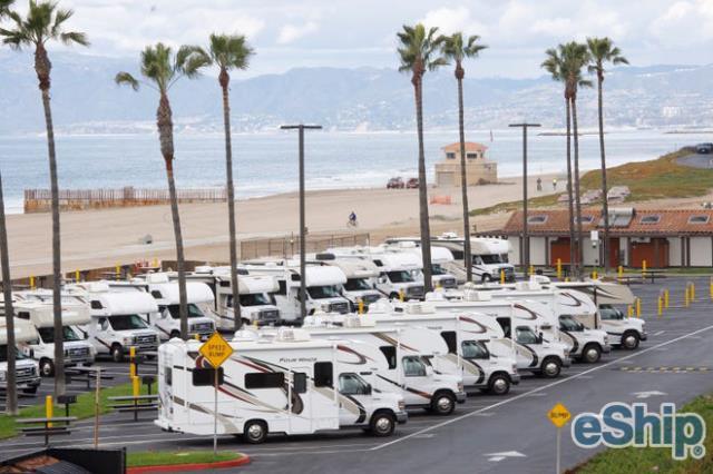 RV Transport in Los Angeles, California
