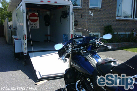 Close Motorcycle Transport in Austin, Texas