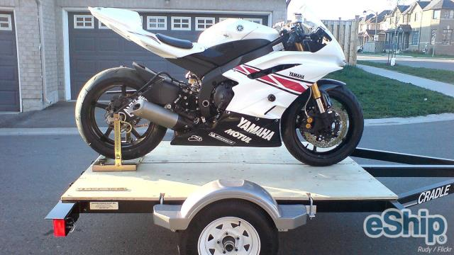 Open Motorcycle Transport in Dallas, Texas