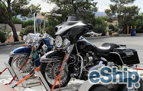Open Motorcycle Transport in Laredo, Texas