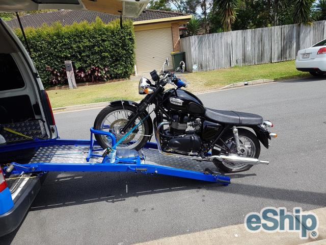 Close Motorcycle Transport in Plano, Texas