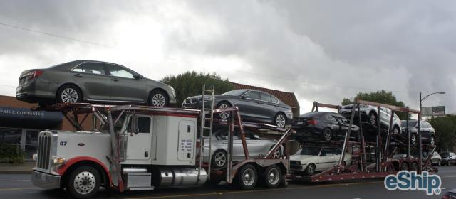 Open Auto Transport in Vancouver, Washington